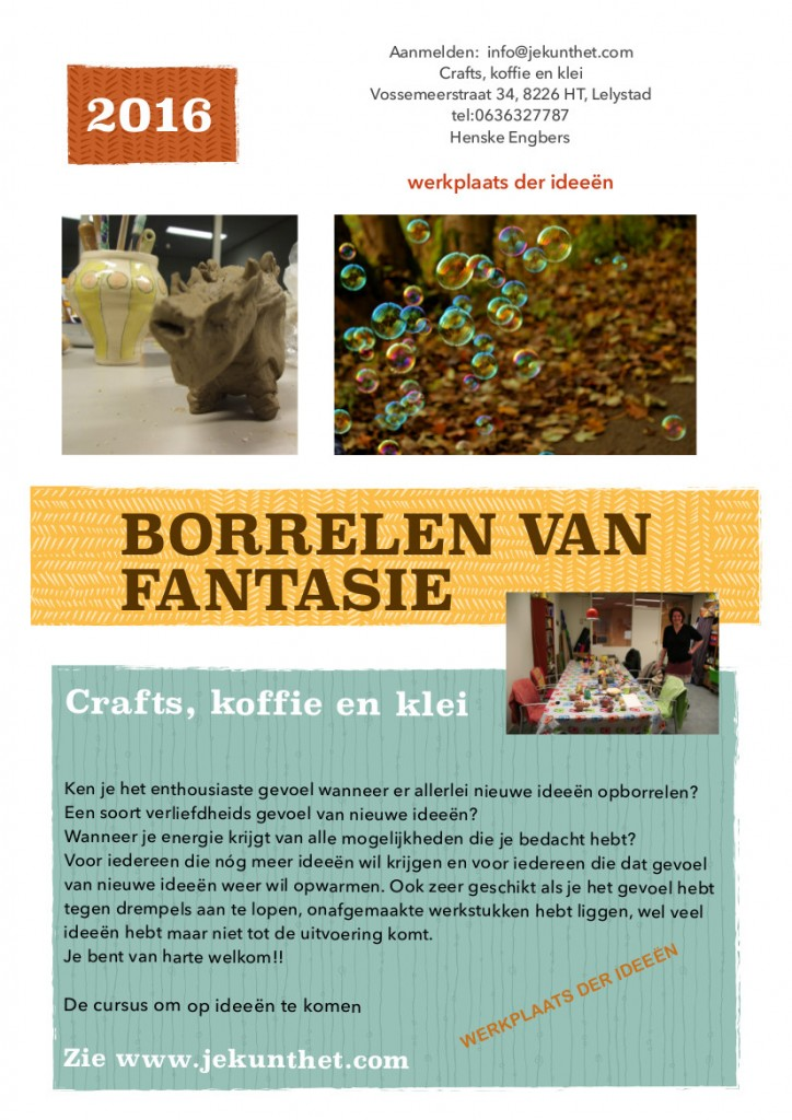 Nieuwe ideeën Lelystad Poster cursus februari 1 kopie