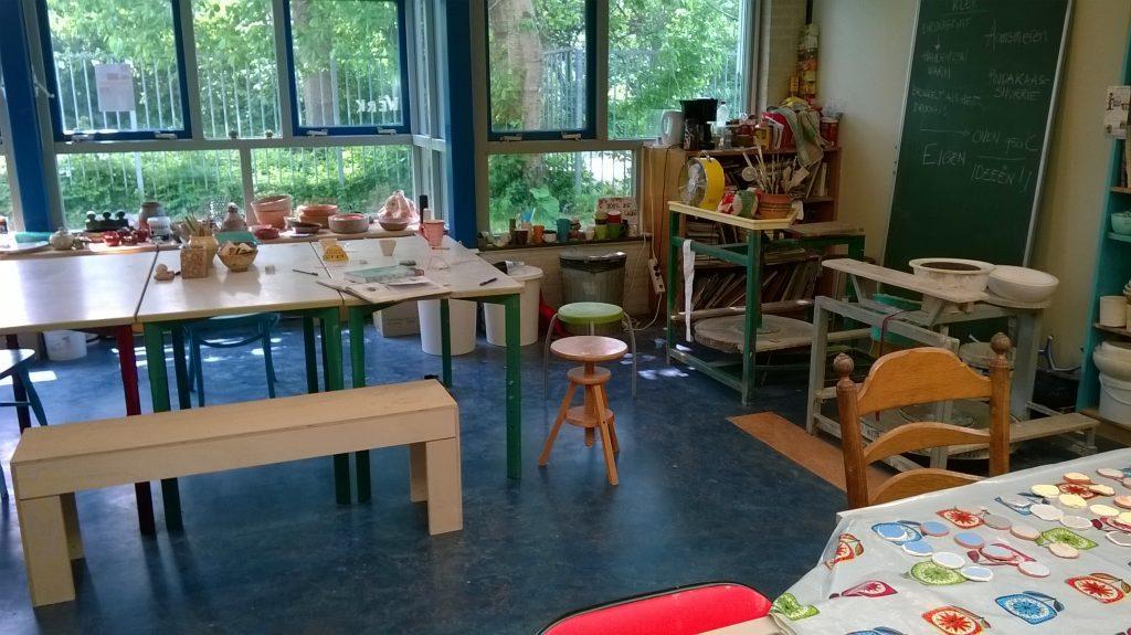 pottenbakken, klei uitvinden spelend leren