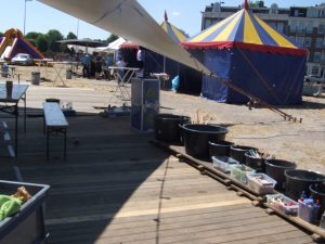 festival inhuren Het stenen hoofd amsterdam techniek uitvinden bootjes workshop popup