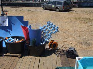 creatief workshop op locatie jaarmarkt springkussen uitvinden techniek kinderen