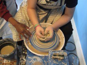 klei pottenbakken kinderen