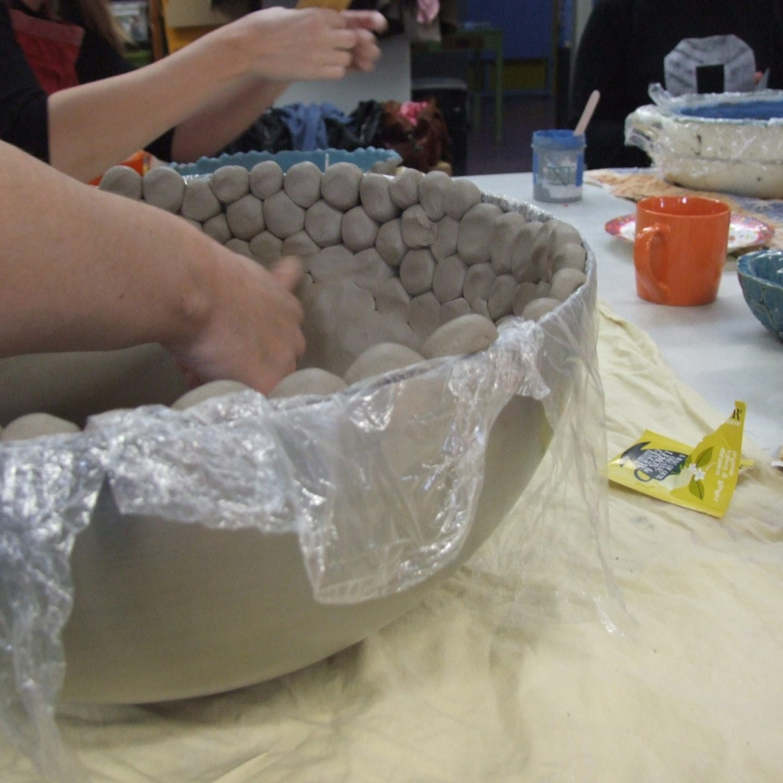 Workshop grote schalen maken