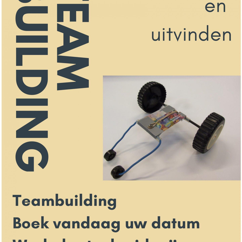 Flyers teambuilding mee