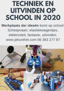 techniek en uitvinden op scholen 2021